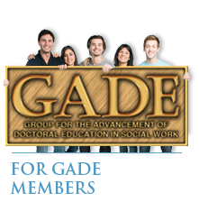 GADE phd - for gade members